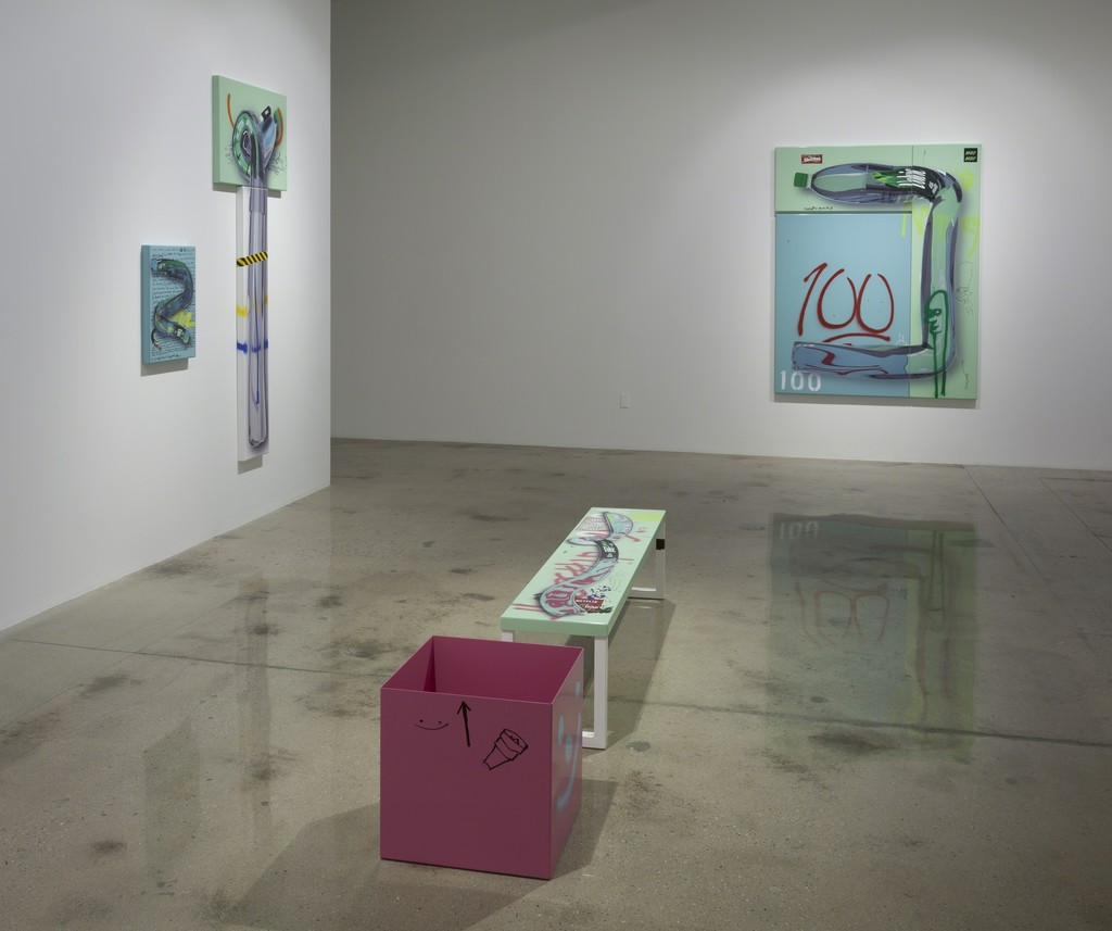 Yung Jake. 'Hydration', Installation view, Steve Turner, February 2016
