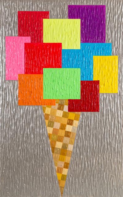 , 'Ice Cream Tutti Frutti ,' 2016, HG Contemporary