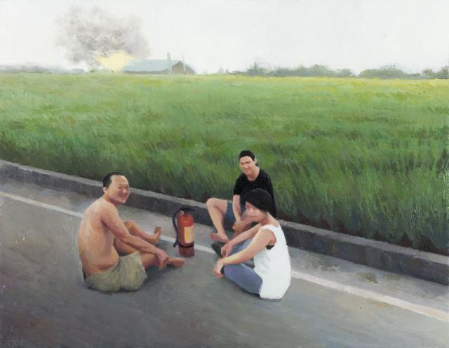, 'Fire distinguisher,' 2016, Yiri Arts