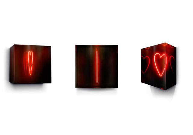 David Drebin, 'Small Heart', 2013, Sculpture, Neon, CHROMA GALLERY