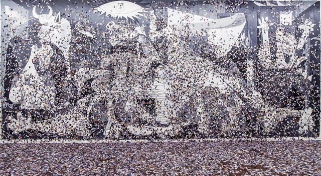 , 'Sin titulo (Guernica Ida y Vuelta, 1937-2017),' 2017, NF/ NIEVES FERNANDEZ
