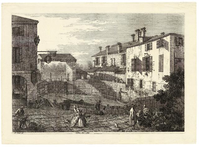 , 'Le Porte del Dolo,' ca. 1740, Daniela Laube Fine Art
