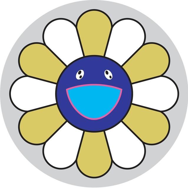 Takashi Murakami, 'Flower of Joy - Yellow Ochre', 2007, Gagosian