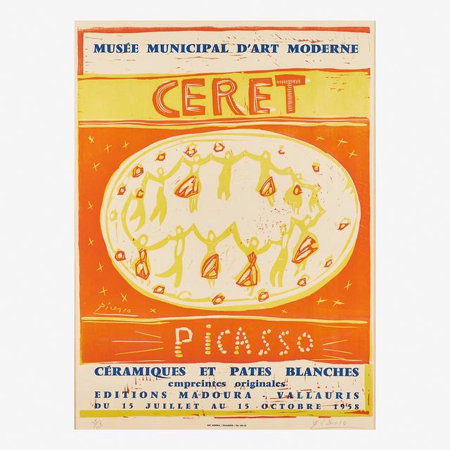 Pablo Picasso, 'Musée Municipal d'Art Moderne Céret', 1958, Rago