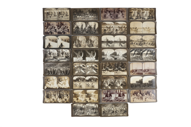 A Selection Of Stereo Cards