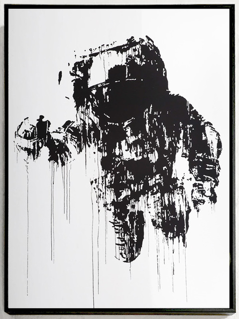 Victor Ash, 'Astronaut / Cosmonaut (Mirror Edition)', 2020, Print, 1-color screen print on a surface mirror coated and break resistant acrylic material, Urban Spree Galerie