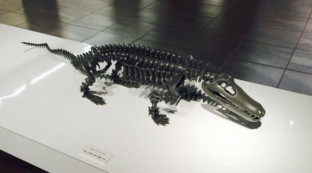 , 'Mimicry-crocodile   ,' 2015, Aki Gallery