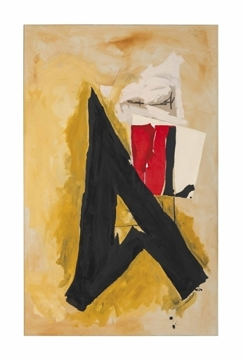 Robert Motherwell, 'The Big A', 1986-1987, Christie's