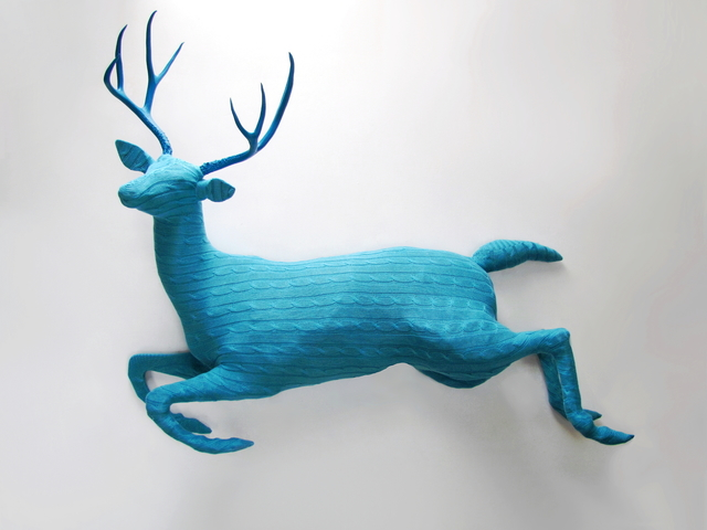 Rachel Denny, 'Leaping Buck', 2017, Sculpture, Mixed media, Visions West Contemporary