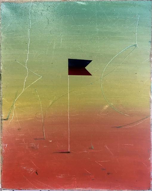 Piotr Rambowski, 'Fahne die es nicht gibt', 2018, Evelyn Drewes Galerie