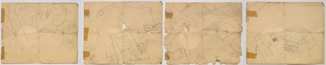 , 'Silent Thunder, Work Study,' 1980-81, James Fuentes