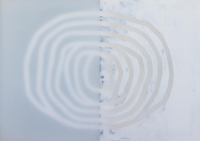 Udo Nöger, 'Innere Ferne 31', 2018, Painting, Mixed Media on Camvas, HOHMANN