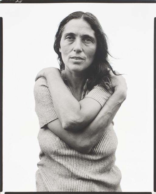 Richard Avedon, 'June Leaf, Sculptress, Mabou Mines, Nova Scotia,  July 18', 1975, Christie's