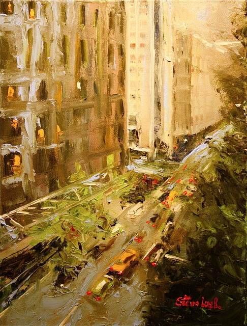 , 'Uptown Crossing, NYC,' 2016, Bowersock Gallery