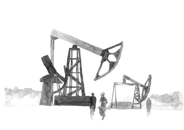 , 'Oilwells,' 2017, SABSAY