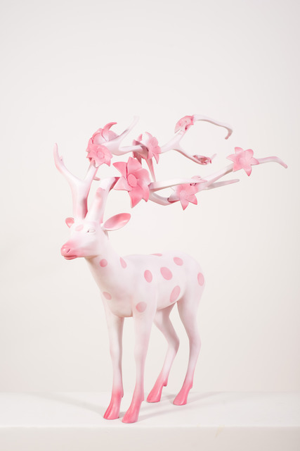 , 'The Cherry Blossom Deer,' 2012, ART LEXÏNG