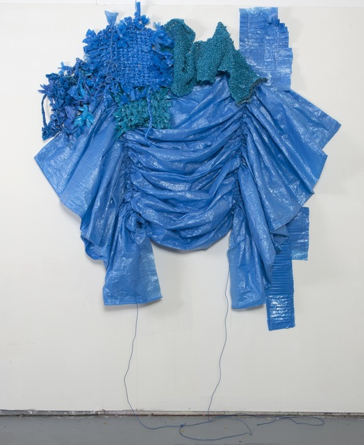 , 'Blue Cheap,' 2013, Burning in Water