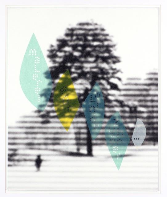 , 'Untitled (Malerei für blinde Zuhörer...),' 2017, Mai 36 Galerie