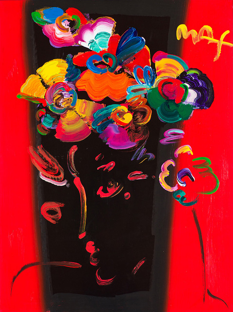 Peter Max, 'Roseville Profile #8', 1999, Larsen Gallery