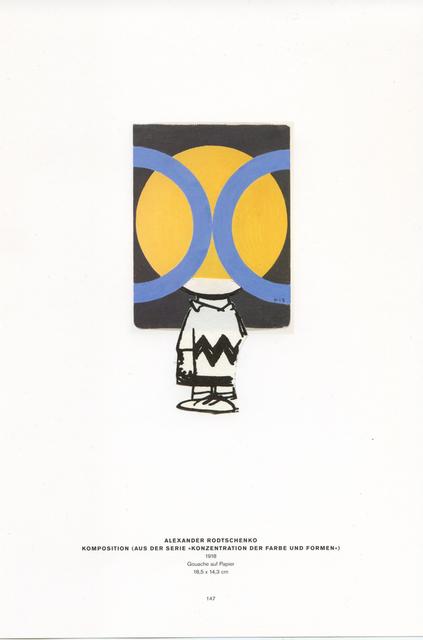 , 'Collage Nr. 449 (Charlie Braun/Rodtschenko),' 2011, Niklas Schechinger Fine Art.