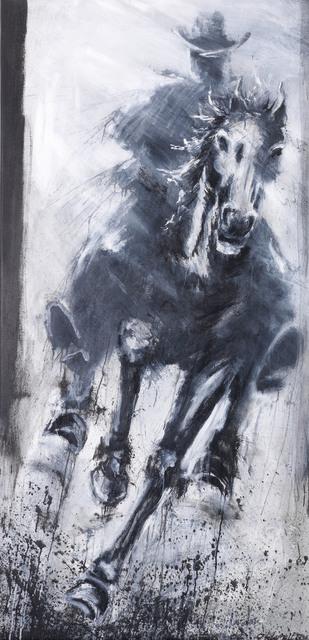 Richard Hambleton, 'Horse and Rider, Straight Ahead', 2004, Leonards Art