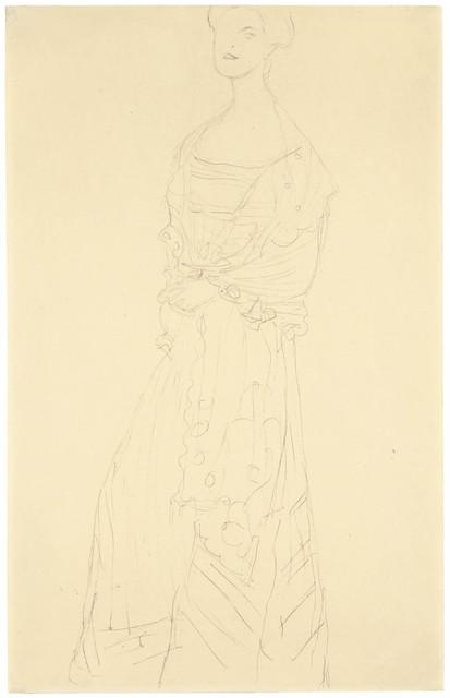 , 'Margaret Stonborough-Wittgenstein standing,' 1904, Galerie Bei Der Albertina Zetter