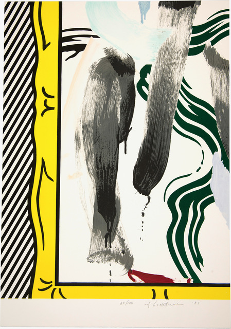 Roy Lichtenstein, 'Against Apartheid', 1983, Print, Lithograph on Arches paper, Fine Art Mia