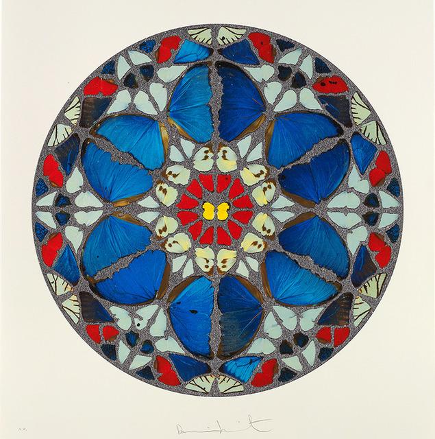 Damien Hirst, 'Psalm - Verba Mea Auribus, Diamond Dust ', 2010, The Drang Gallery