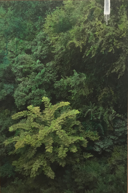 , 'Study of Green-grove 2,' 2015, ONE AND J. Gallery