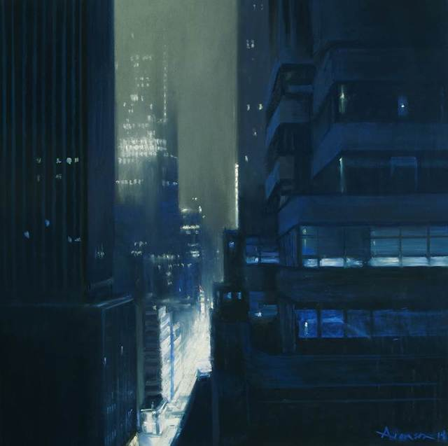 , 'Manhattan, 2 am,' 2014, Jenkins Johnson Gallery