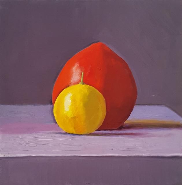 Dan McCleary, 'Lemon and Persimmon', 2018, Craig Krull Gallery