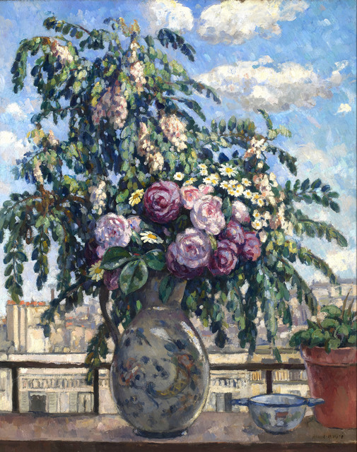 Albert André, 'The Bouquet (View from the Artist's Studio, Paris)', ca. 1900, Guarisco Gallery