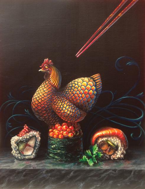 , 'Chicken or Fish?,' 2018, Spoke Art