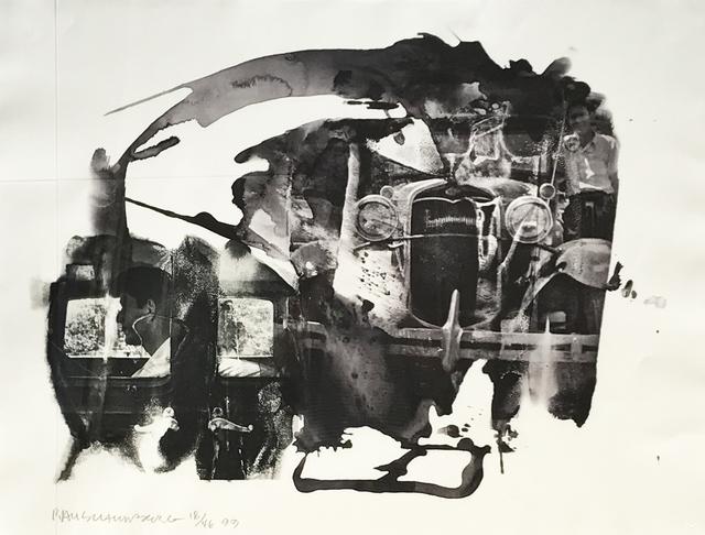 Robert Rauschenberg, 'John', 1999, Eckert Fine Art
