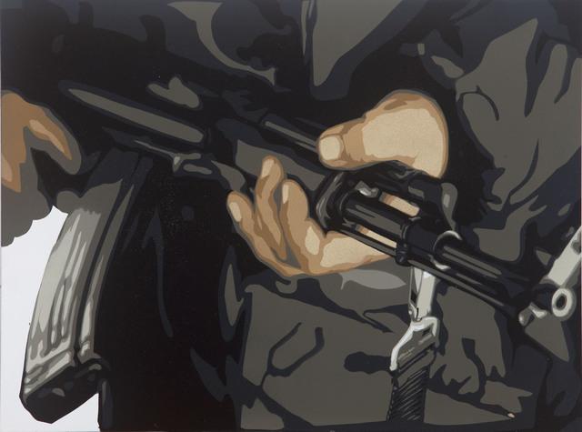 , 'Militant,' 2014, StolenSpace Gallery