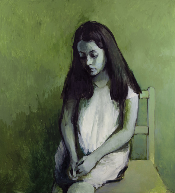 , 'Green Girl,' 2015, Flowers