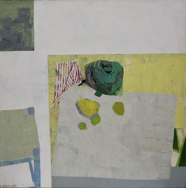 Gabriel Godard, 'Nature morte au chou', 1973, Painting, Oil on canvas, Artioli Findlay