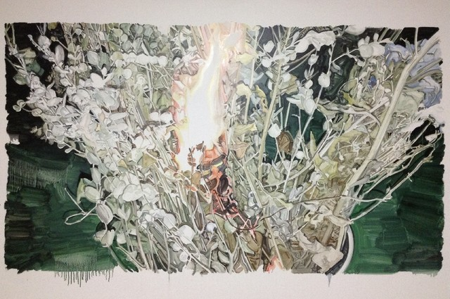 , 'Fire on the flowers,' 2014, Gallery Skape