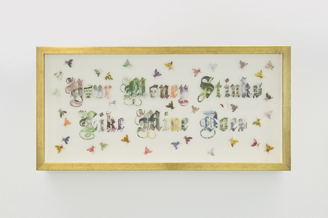 , 'Your Money Stinks Like Mine Does,' 2013, ADN Galeria (Barcelona)