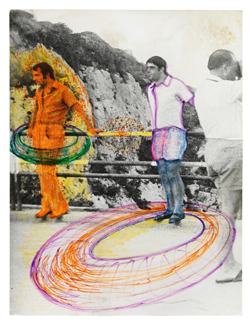 , 'Ohne Titel/ Untitled (Männer am Felsen, übermalt),' 1972, Contemporary Fine Arts