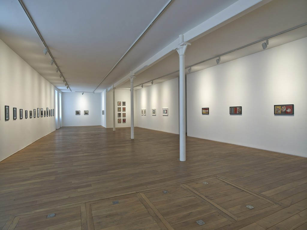 Installation view of the solo exhibition 'Frank Walter'