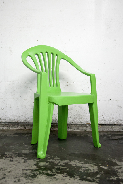 , 'Green chair I,' 2017, Ever Gold [Projects]