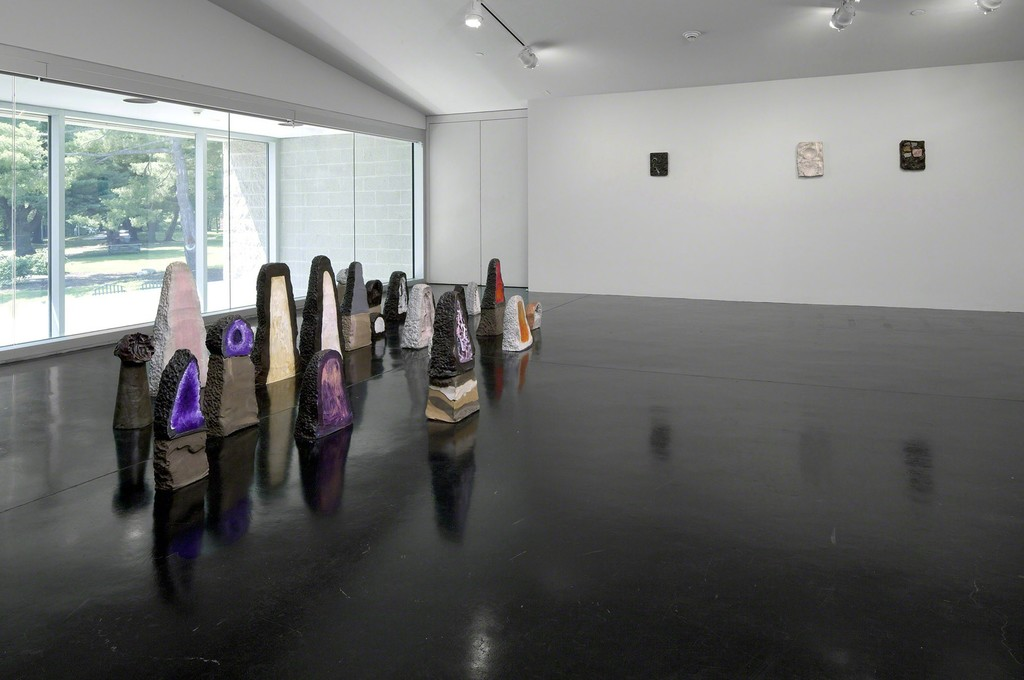 Installation view of Opener 28: Erika Verzuti — Mineral, Tang Teaching Museum, 2014