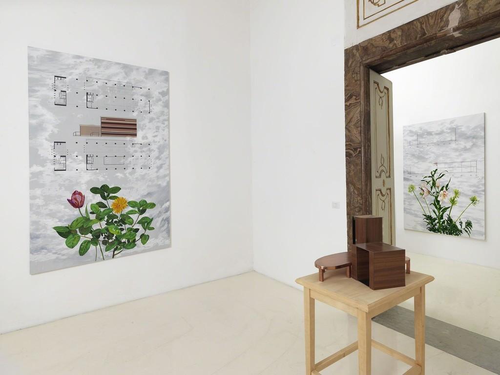 Lello Lopez - assioma della memoria - partial view of the exhibition - September 2014 - Galleria Alfonso Artiaco, Napoli