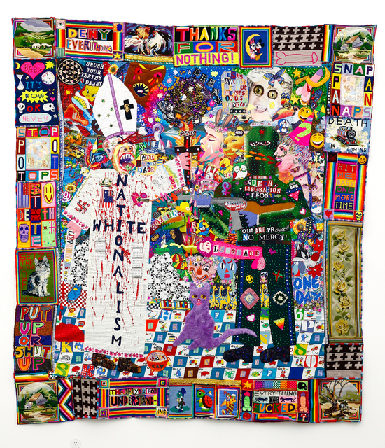 , 'Deny Everything,' 2018, Hugo Michell Gallery