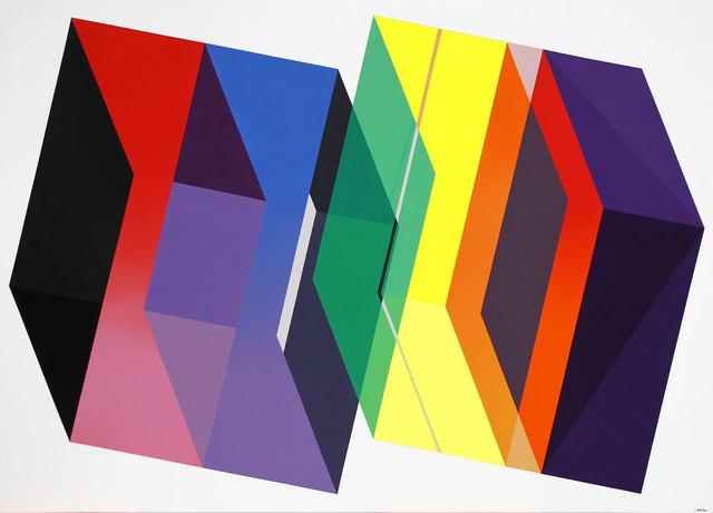 , 'Eclosion Géométrique,' 2018, David Bloch Gallery