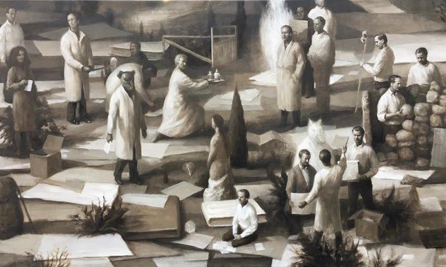 , 'Garden of precautions ,' 2018, KIRK Gallery