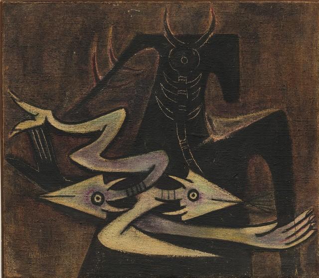 , 'The Warrior,' 1947, Latin Art Core