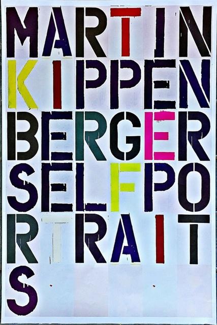 Christopher Wool, 'Martin Kippenberger Self-Portraits', 2005, Alpha 137 Gallery Auction
