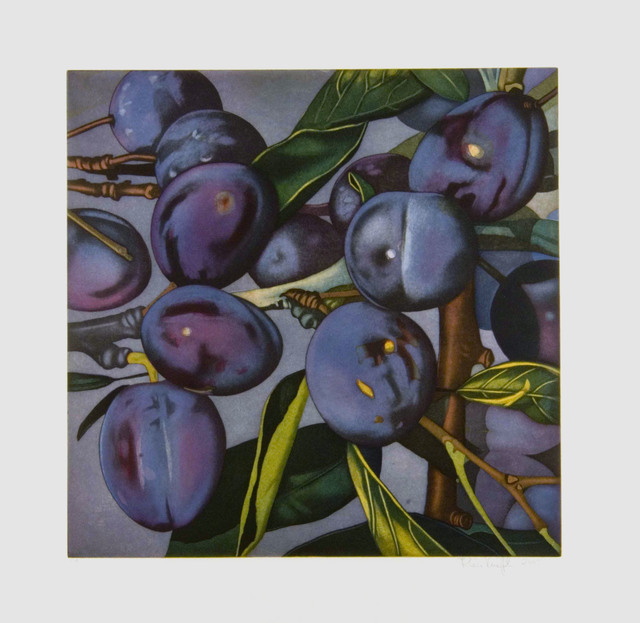 Karin Kneffel, 'Plums', 2005, Barbara Mathes Gallery
